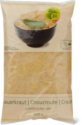 Bio Sauerkraut gekocht