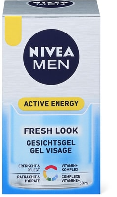 nivea men active energy gesichtsgel migros. Black Bedroom Furniture Sets. Home Design Ideas