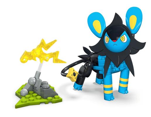 Pokémon Mega Construx  GMD36 LUXIO Spielfigur
