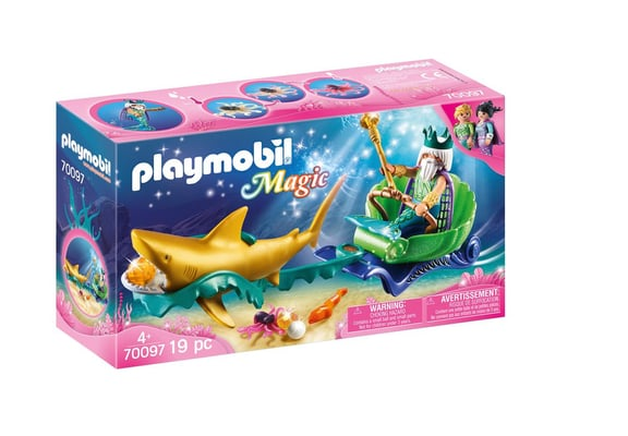 PLAYMOBIL 70097 Roi des mers