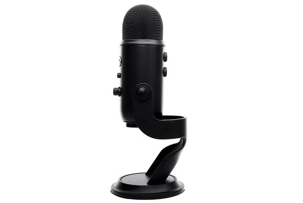 Blue Yeti Microphone Blackout USB microphone