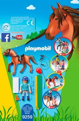 Playmobil Country Fisioterapista dei cavalli 9259