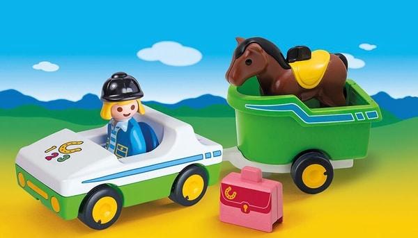 PLAYMOBIL® 70181 Auto con trasporto cavalli 1.2.3