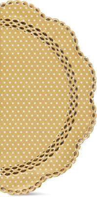 Cucina & Tavola Spitzen-Tortenpapier ass. Ø35cm 6 Stück