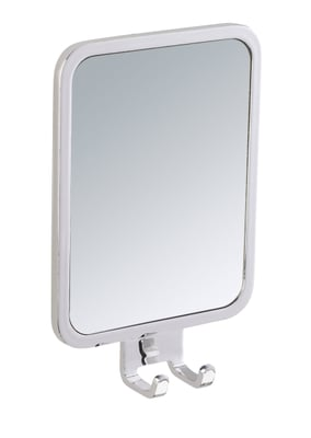 WENKO Miroir Antibuée En Acier Inox Premium Plus