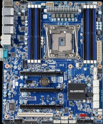 Giga-Byte Mainboard MW50-SV0 Grantley C612 UP Mainboard