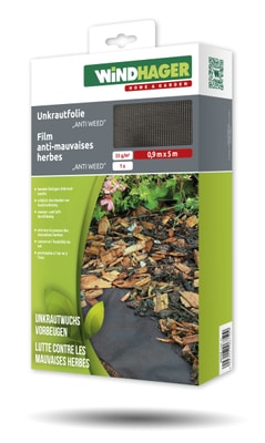 Windhager ANTI WEED Feuille anti-mauvaises herbes Feuille
