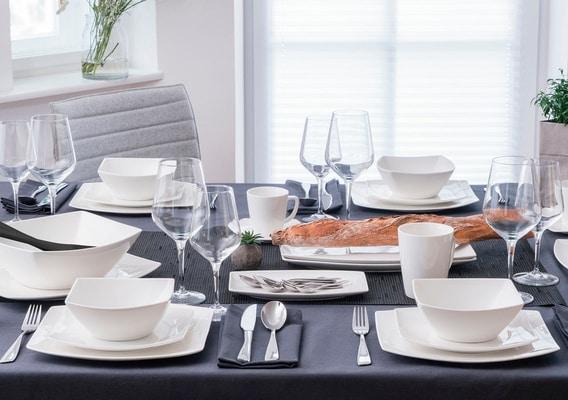 Cucina & Tavola FINE LINE Espressotasse mit Unterteller