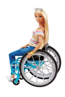 Barbie GGL22 Wheelchair