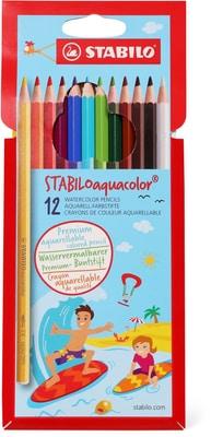 Stabilo Farbstifte Aquacolor 12