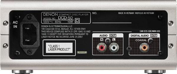 Denon DCD-50 - Argento CD-Player