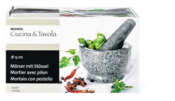 Cucina & Tavola Mörser mit Stössel