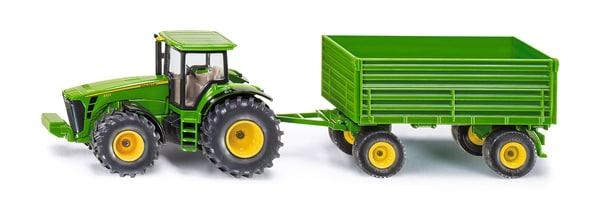 Siku Traktor mit Anhänger 1:50 Modellfahrzeug