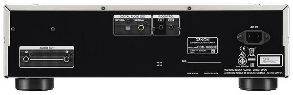 Denon DCD-1600NE - Noir CD-Player