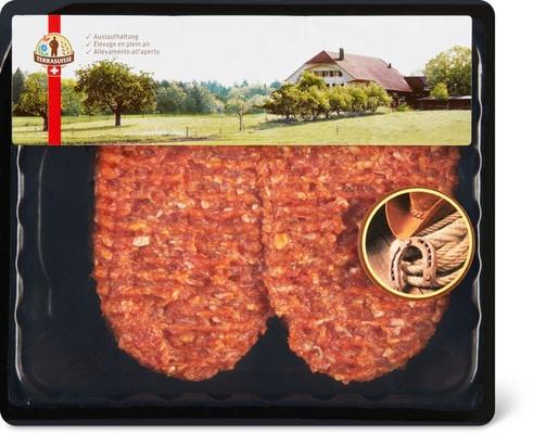 Steak hache de boeuf Terrasuisse