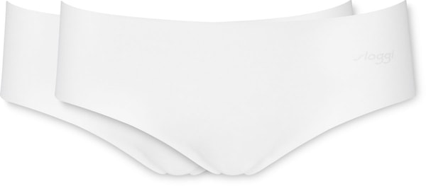 Sloggi donna Hipster conf. 2 Zero Cotton bianco