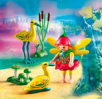 Playmobil Fairies Fée avec cigognes 9138