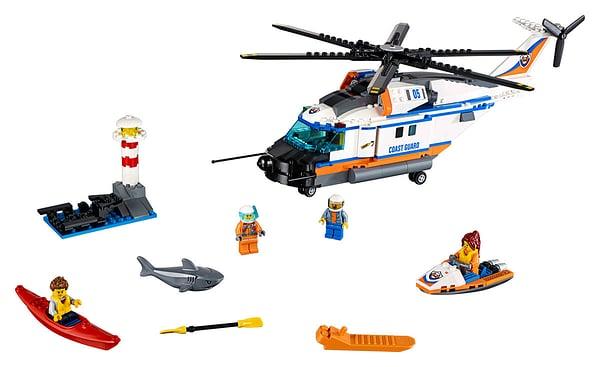 LEGO City L'hélicoptère de secours 60166