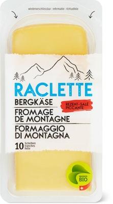 Bio Bergkäse Raclette Scheiben