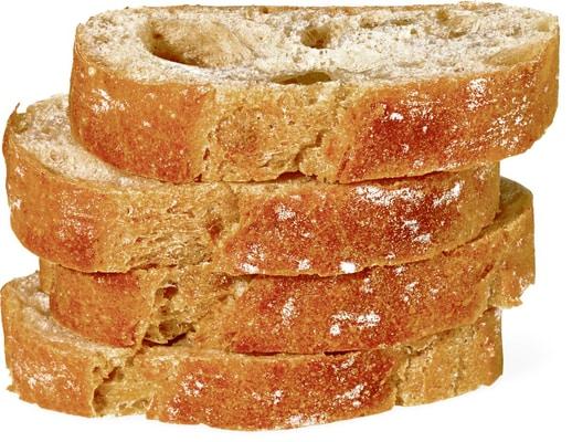 Baguette du four à pierre