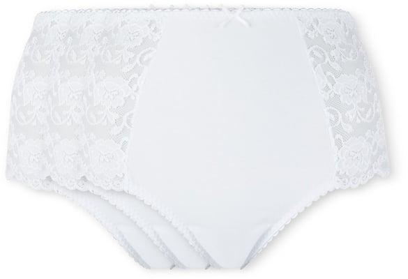 slip donna maxi bianco