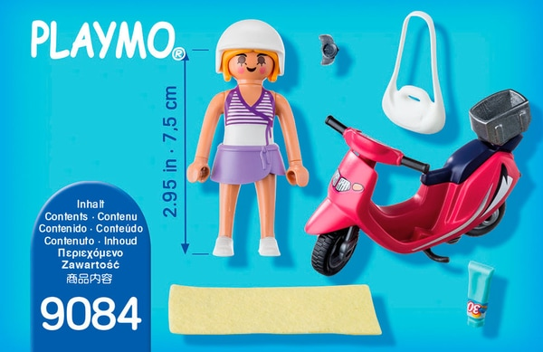 Playmobil Special Plus Ragazza con scooter 9084