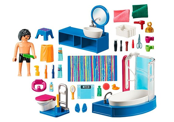 Playmobil 70211 Salle de bain avec baignoire