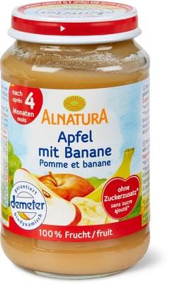 Alnatura Pomme avec banane