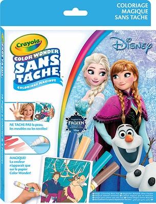 Disney Frozen Color Wonder pagine da colorare