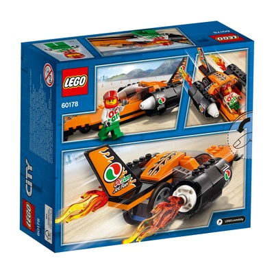 Lego City 60178 Bolide Da Record