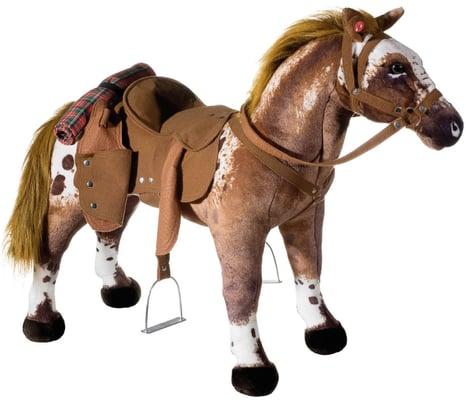 Cheval de cowboy debout
