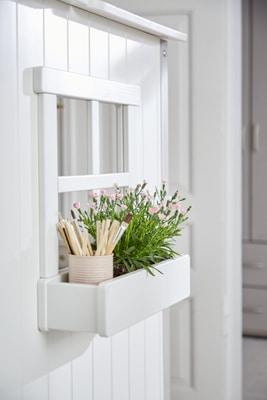 Flexa TREE HOUSE Halbes Baumhaus inkl. Einzelbett