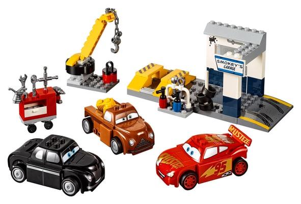LEGO Juniors Il garage di Smokey 10743