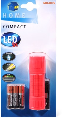 Torcia tascabile compact LED