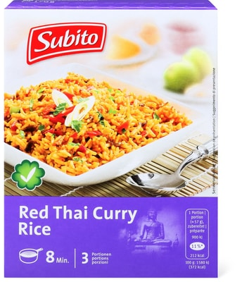 Subito Riz Red Thai Curry