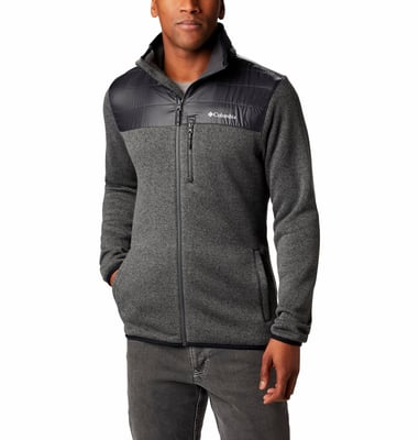 Columbia Canyon Point Herren-Fleecejacke