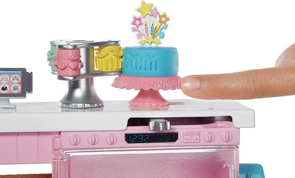 Coffret Barbie et sa pâtisserie