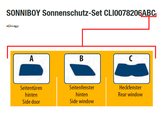 SONNIBOY CLI0078352ABC Protection solaire