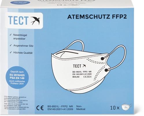 Atemschutzmasken FFP-2 TECT