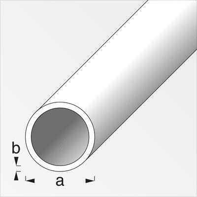 alfer Tube rond 0.5 x 4 mm laiton 1 m