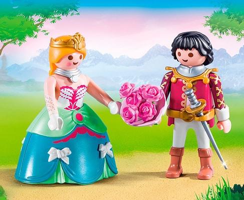 Playmobil Duo Packs Principe e Principessa 9215