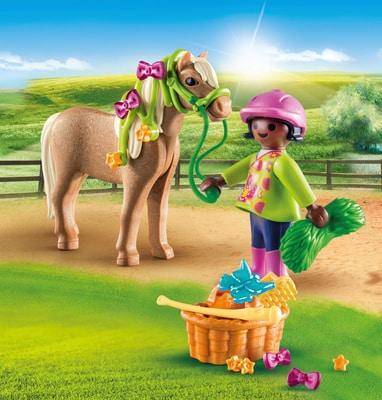 PLAYMOBIL 70060 Cavalière avec poney