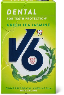 V6 dental care Green tea Jasmin
