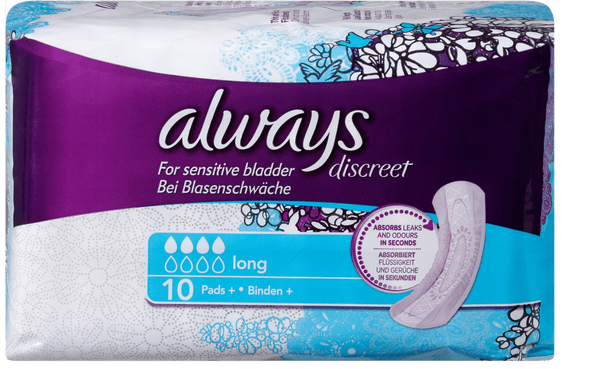 Always Discreet Ins. prott. Igienici long