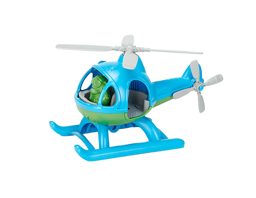 Green Toy Helicopter