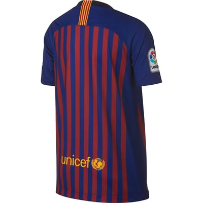 Nike Breathe FC Barcelona Stadium Home T-shirt de football pour enfant