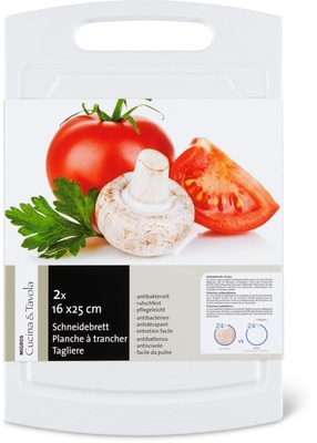 Cucina & Tavola Taglieri 2er set piccolo bianco