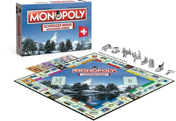 Monopoly Montagne Svizzere Società gioco