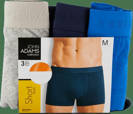 Shorts John Adams pour homme, en lot de 3