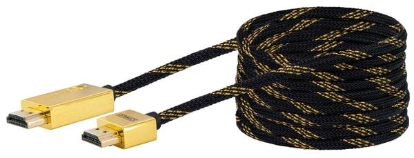 schwaiger kabel hdmi slim 5m gold migipedia. Black Bedroom Furniture Sets. Home Design Ideas